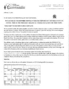 Family Letter 2.17.21 pdf 232x300 - Family Letter 2.17.21