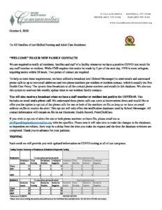 Family letter October 8 pdf 232x300 - Family letter October 8
