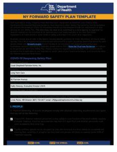 GSFH SNF NY Forward Safety Plan pdf 232x300 - GSFH SNF NY Forward Safety Plan