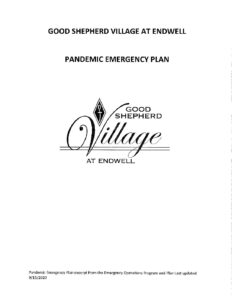 Good Shepherd Village at Endwell Pandemic Emergecny Plan pdf 232x300 - Good Shepherd Village at Endwell-Pandemic Emergecny Plan