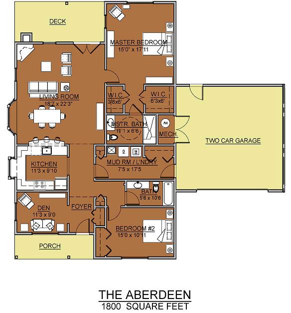 aberdeen cottage assisted living floorplan good shepherd endwell - Good Shepherd Village at Endwell