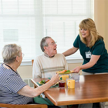 assisted living binghamton area ny good shepherd communities health center endwell dining options - Good Shepherd Fairview Home