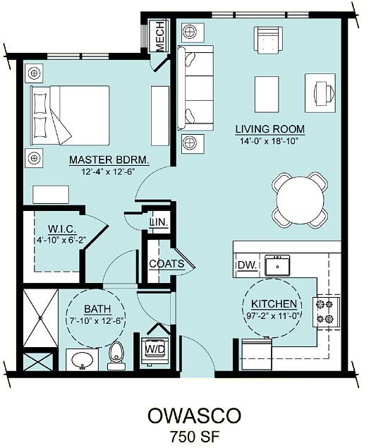 owasco apartment assisted living floorplan good shepherd endwell - Good Shepherd Village at Endwell
