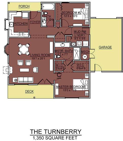 turnberry cottage assisted living floorplan good shepherd endwell - Good Shepherd Village at Endwell